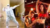 Female doctor in PPE dances to Varun-Nora's 'Garmi'
