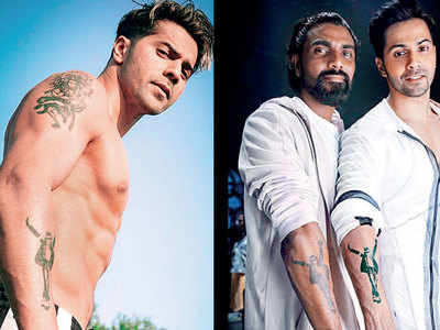 Remo D'souza: Varun Dhawan will sport the same tattoo in all our dance films