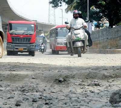 In Pics: Bengaluru's becoming synonymous with potholes