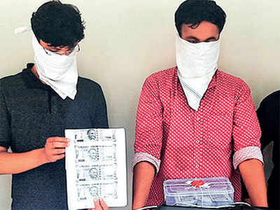 Cousins print fake notes to get rich fast, caught