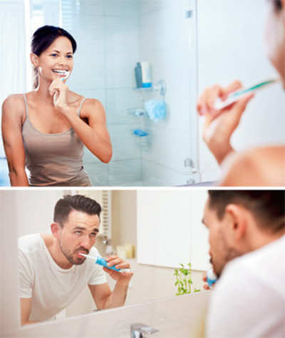 Brush with dental care