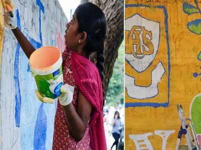 An artistic exploration of Bengaluru's Richards Town