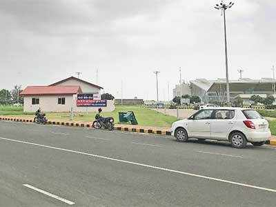 Pay and park to visit airport police station