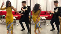 Watch: Priyanka and Nick Jonas dancing to Bollywood song
