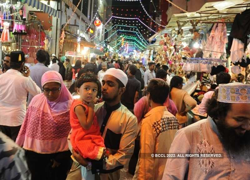 In pics: India celebrates Eid with great fervour