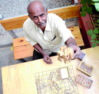 Out of the box: Want to be happy in life? Follow NV Balasubramanyam's advice: Either solve puzzles or, better still, make them