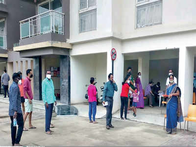 Bellandur becomes third spot to report c+ cluster