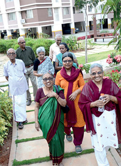 Pensioners' paradise : Ageing Bengalureans are daring to break the mould for a lifestyle that best suits their needs