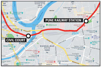 Rlys refuses to yield space for the Pune Metro, route to be altered