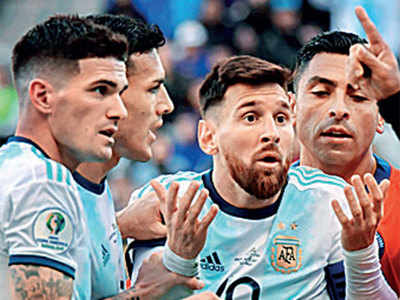 Argentina captain Lionel Messi handed one-game ban for Copa red