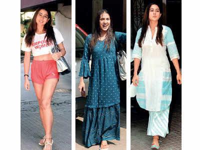 Sara Ali Khan has a new gym wardrobe