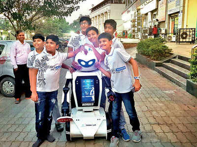 Now it's a Roadeo! Pune to soon be first city in country to see a traffic robot on its roads