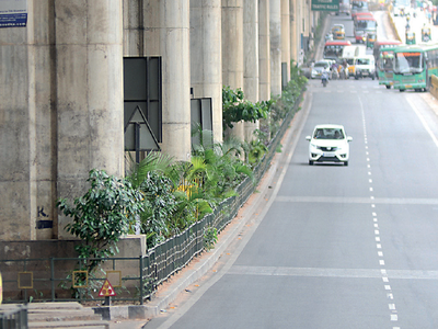 Dull Metro pillars need some colours in Bengaluru