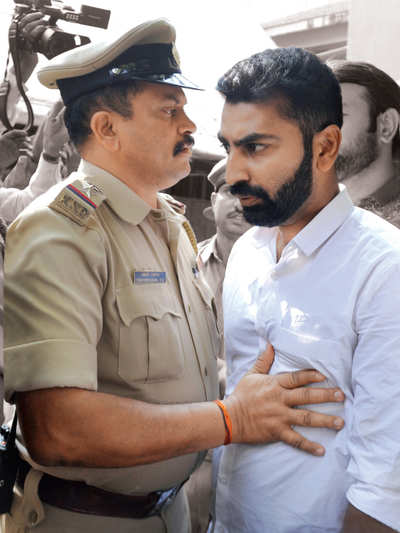 Haris-ment: Mohammed Haris Nalapad has learnt no lessons in anger management