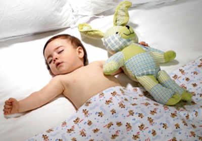 Let your infant sleep on back