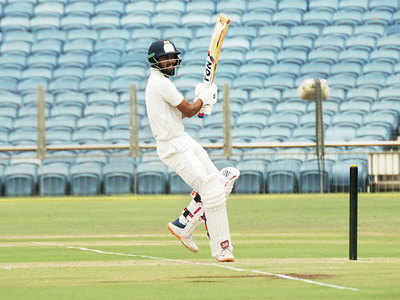 The three-run lead in 1st innings pays off for Maha