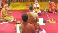 Ayodhya: PM Narendra Modi performs 'bhoomi pujan' at Ram temple site