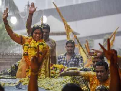 Maharashtra: BJP rebel Geeta Jain who won from Mira Bhayandar meets BVA chief Hitendra Thakur