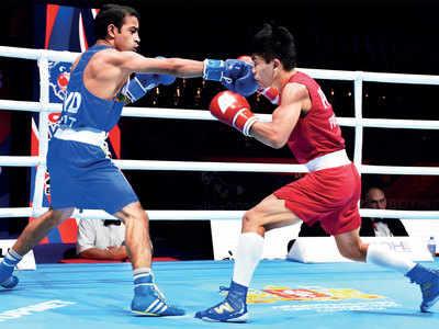 Amit Panghal, Manish Kaushik enter semi-finals of World Boxing Championship