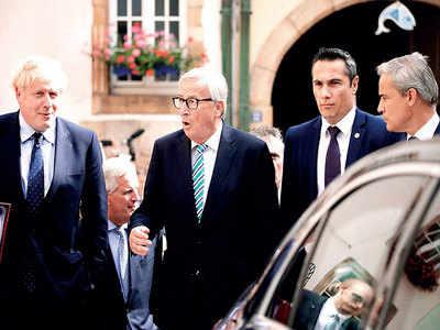 Johnson's talks with EU make no headway