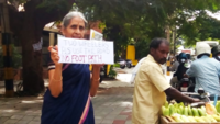 Bengaluru: Senior citizens urge riders to not use footpath, obey traffic laws