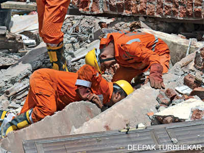 Mumbai building collapse: Three members of a family die hours after birthday party in the Bhendi Bazar crash