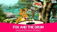 Kids Stories | Nursery Rhymes & Baby Songs - 'Fox And The Drum - Panchatantra Story'- Kids Nursery Story In Tamil