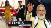 Priyanka Chopra and Nick Jonas dance to Bollywood song; Celebs wish PM Narendra Modi on his 69th birthday, and more