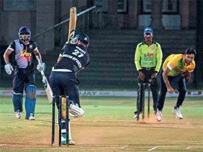 Darshanam Bombers to set up final date with Sharda CC
