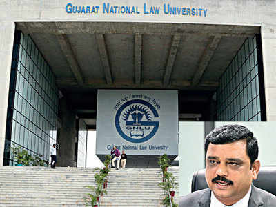Director takes charge at GNLU