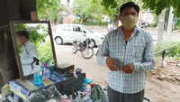 Watch: Chandigarh roadside barbers reopen with SOP