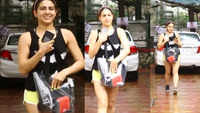 Sara Ali Khan is all smiles for paparazzi post her dance class