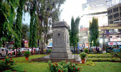 Battle for Brigade Road war memorial plaza won