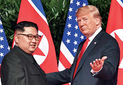 Trump says likely to meet Kim in Jan or Feb