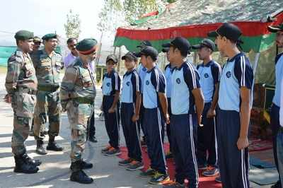 Army concludes rowing training for Bandipora youth at Jabapur