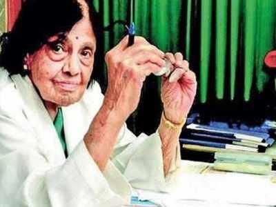 India's first female cardiologist S Padmavati dies of Covid-19 at 103