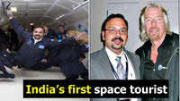 Kerala man ready to fly as he becomes India's first space tourist