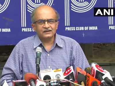 Prashant Bhushan case live:  Tweets not meant to disrespect SC, will pay Re 1 fine, says Prashant Bhushan