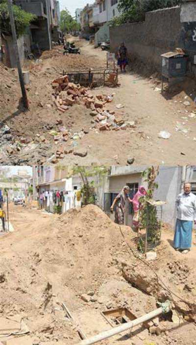 AMC digs up misery for locals