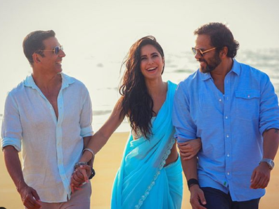 Katrina Kaif shares new picture with Akshay Kumar, Rohit Shetty from the sets of Sooryavanshi