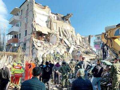 16 killed, 600 hurt in Albania quake