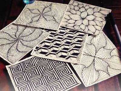 PLAN AHEAD: Try illusion art