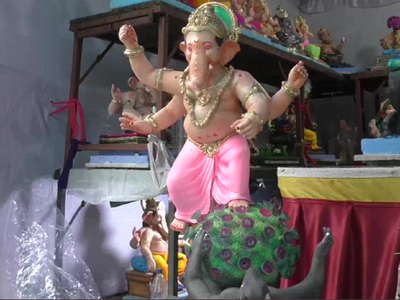 COVID-themed Ganesha idols grab attention in Surat