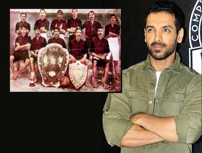 John Abraham to bring iconic 1911 football match to the big screen