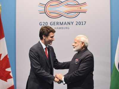 PM Modi congratulates Justin Trudeau over election victory