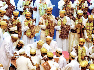 Wedding dress: Bohras can only wed in community halls