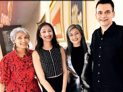 Costume designer Nachiket Barve celebrates birthday and success of Tanhaji: The Unsung Warrior with family and friends
