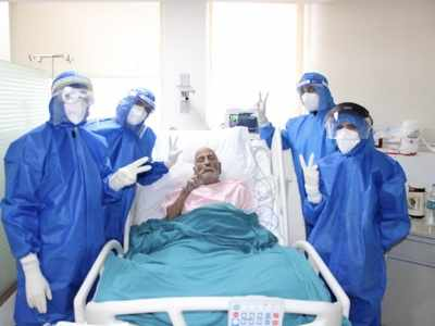 'Ray of hope': 97-year-old man recovers from COVID-19 in Uttar Pradesh's Agra