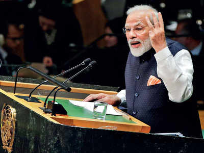 At UNGA, Modi urges for joint fight against terror