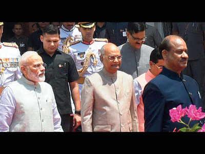Centre will implement NRC on priority: President Ram Nath Kovind